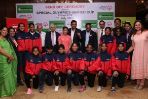 Mary Kom, Saina Nehwal wish athletes luck ahead of Special Olympics Unified Cup 2018