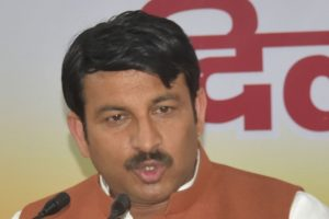 Congress takes a swipe at Tiwari on anti-sealing drive
