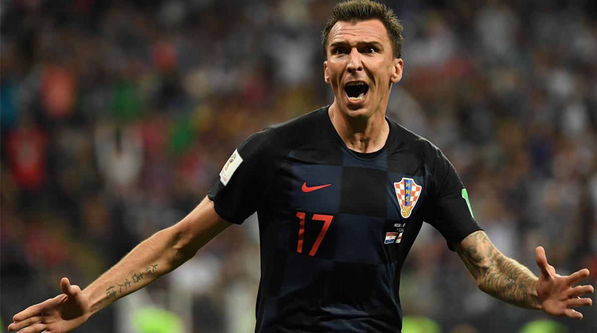 Mario Mandzukic, England vs Croatia, 2018 FIFA World Cup, FIFA World Cup 2018, Croatia Football