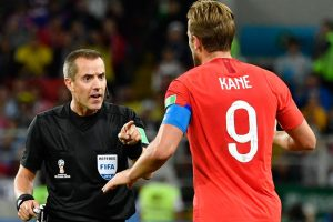 World Cup: Referee Geiger in eye of storm after England-Colombia game