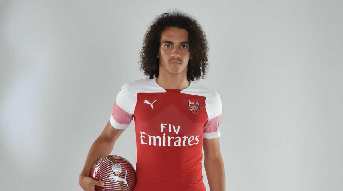outlet store 14a9f 8cdf5 Hair to the throne? Arsenal's Matteo Guendouzi compared to ...