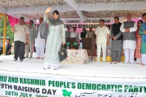 Mehbooba Mufti urges PM Modi to hold Imran Khan's 'hand of friendship'