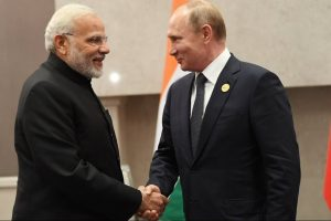 BRICS Summit | PM Modi meets Russian President Vladimir Putin