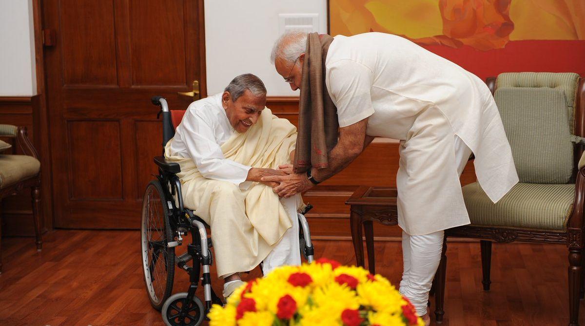 PM Modi, Dada Vaswani