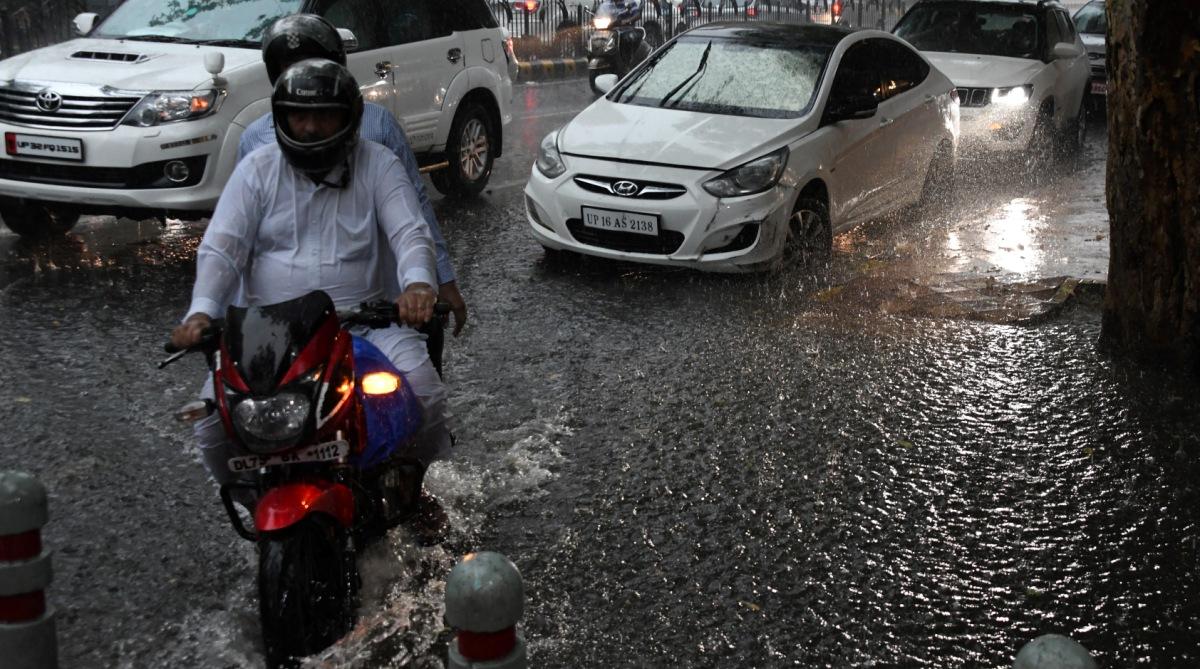 Monsoon Rain Delhi