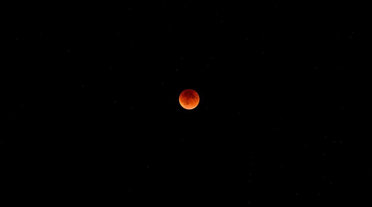 Mini Moon, Micro Blood Moon, Blood Moon