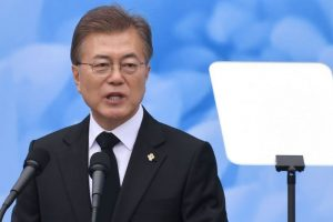 Denuclearisation on agenda: S Korean Prez arrives on 4-day India tour