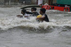 Mumbai rains: Local train services hit, Dabbawalas suspend work
