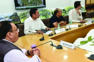 Nadda reviews progress of AIIMS in Himachal