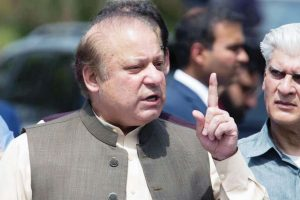Former Pakistan PM Nawaz Sharif appears before accountability court