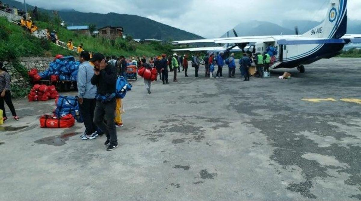 Indian pilgrims, pilgrims evacuated, Nepal, Mansarovar Yatra