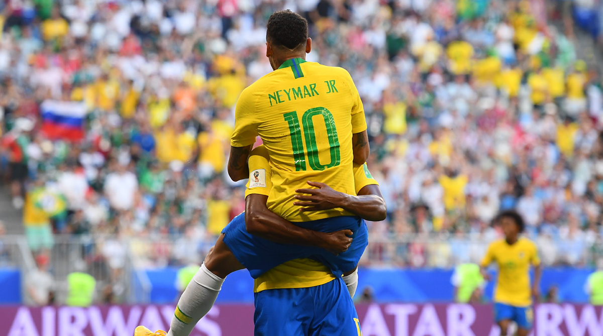 Neymar, Brazil vs Mexico, Brazil Football, 2018 FIFA World Cup, FIFA World Cup 2018