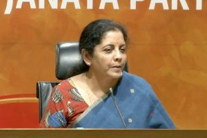 Nirmala Sitharaman blames UPA for bad loans, banks facing crunch