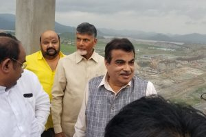 Polavaram Dam project: Naidu seeks funds, Gadkari assures Centre's commitment