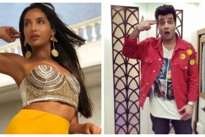 Nora Fatehi, Varun Sharma take KIKI challenge, adds the most hilarious desi twist | See video
