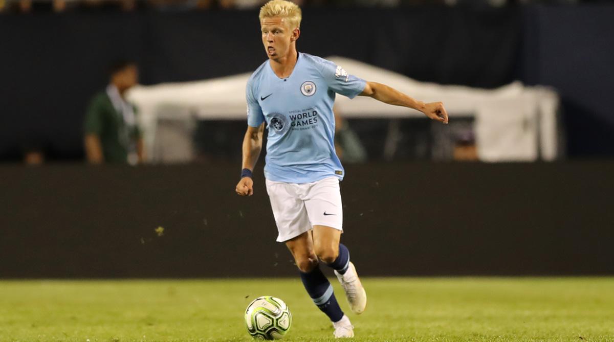 Oleksandr Zinchenko, Manchester City F.C., Premier League, Manchester City Away Jersey