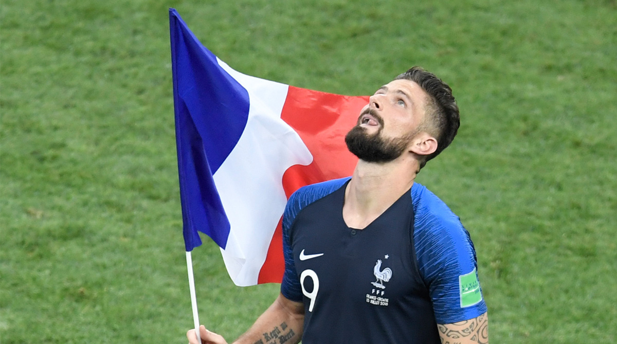 Olivier Giroud, Chelsea F.C., Premier League, France Football, 2018 FIFA World Cup, FIFA World Cup 2018