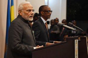 Indian diaspora is making a mark all over world: PM Modi in Rwanda