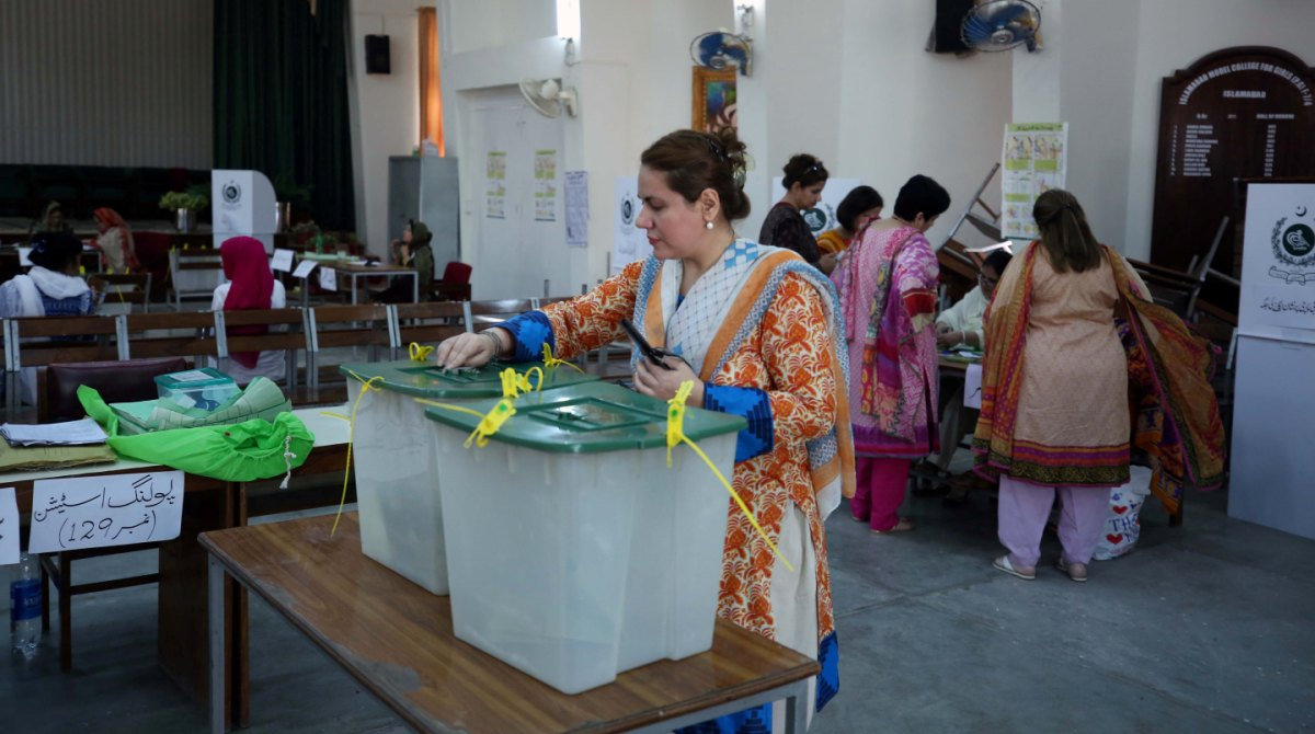 Pakistan Elections Women