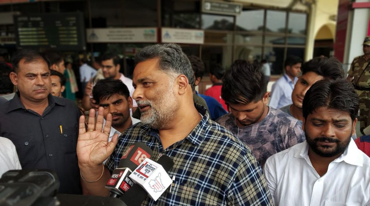 Pappu Yadav, crime against women, Jan Adhikar Party chiefPappu Yadav, crime against women, Jan Adhikar Party chief