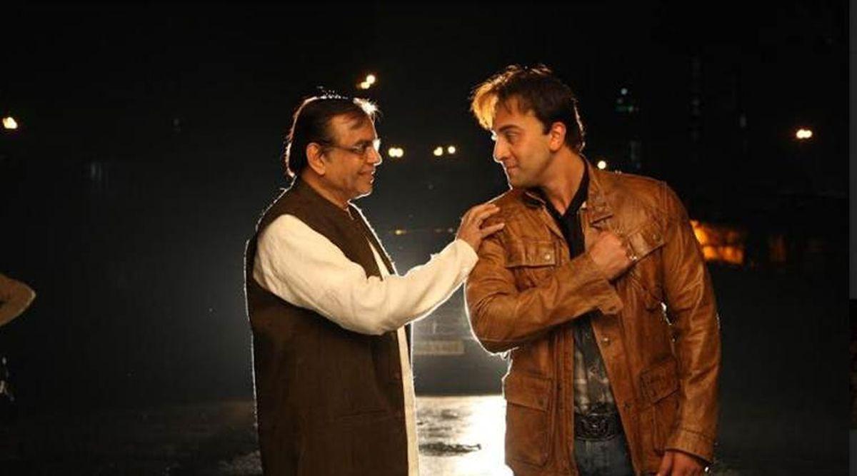 Paresh Rawal and Ranbir Kapoor in Sanju