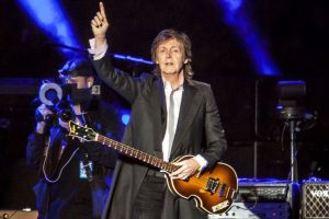 Paul McCartney recreates Beatles Album Art of crossing Abbey Road