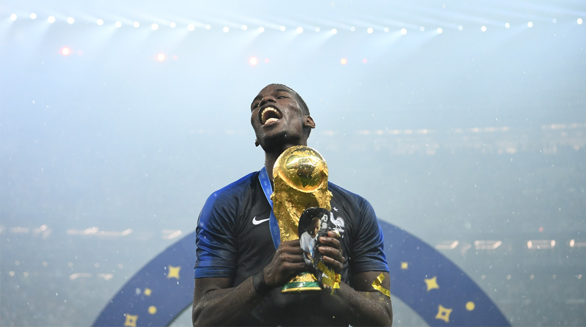 Paul Pogba, Manchester United F.C., France Football, 2018 FIFA World Cup, FIFA World Cup 2018, Premier League