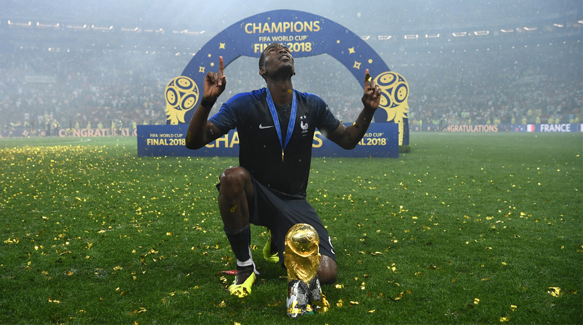 Paul Pogba, France Football, 2018 FIFA World Cup, FIFA World Cup 2018, Manchester United F.C.
