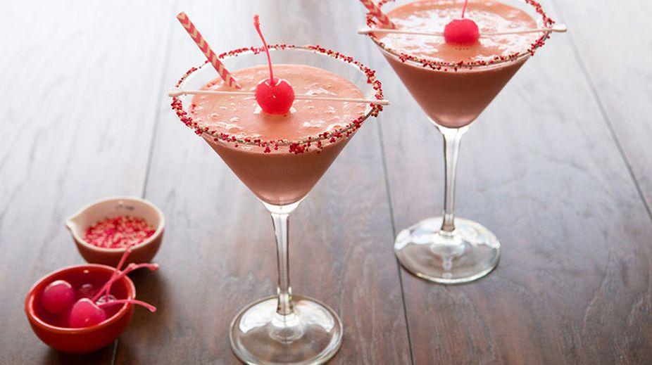 Pink Lady Mocktail