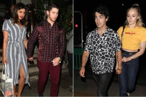 Early birthday celebrations of Priyanka Chopra with Jonas brothers, Sophie Turner