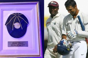 Rahul Dravid fifth Indian to be inducted into ICC Hall of Fame