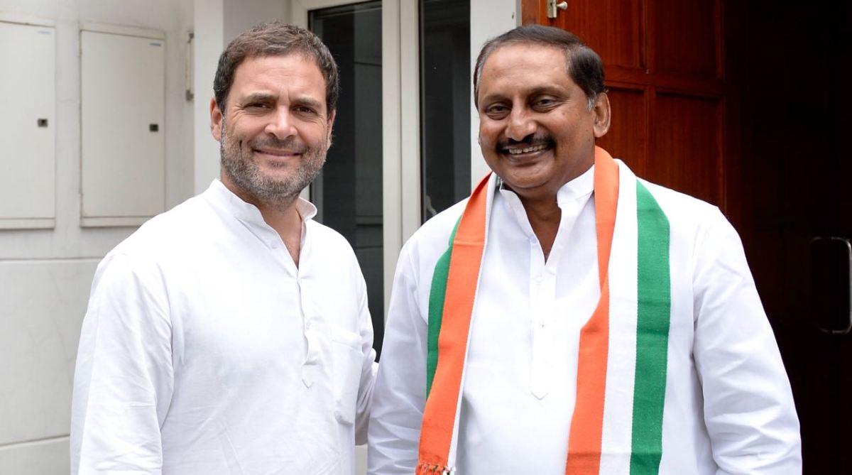 Rahul Gandhi Kiran Kumar Reddy