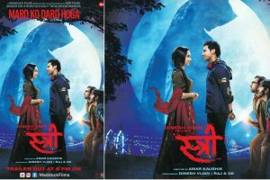 Rajkummar Rao, Shraddha Kapoor starrer Stree poster will leave you intrigued