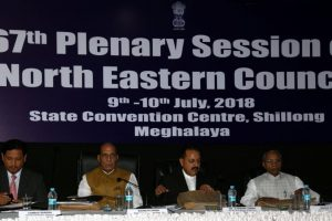 Rajnath Singh urges Northeast to improve law and order