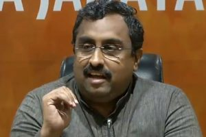 Ram Madhav in Srinagar to chalk out poll strategy
