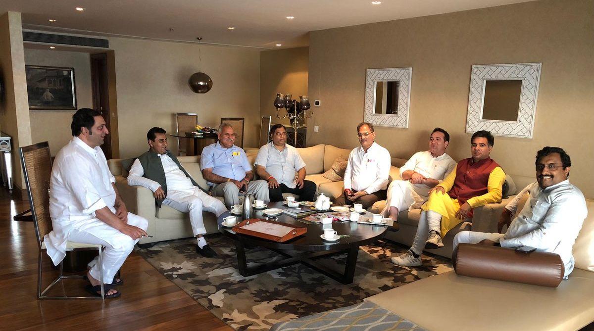 Mehbooba Mufti, PDP leader, J-K, Ram Madhav, Sajjad Lone, PDP MLAs