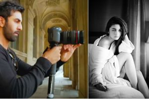 Ranbir Kapoor turns photographer for Alia Bhatt