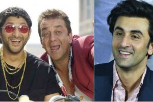 Ranbir Kapoor to replace Arshad Warsi as Circuit in Munna Bhai 3?