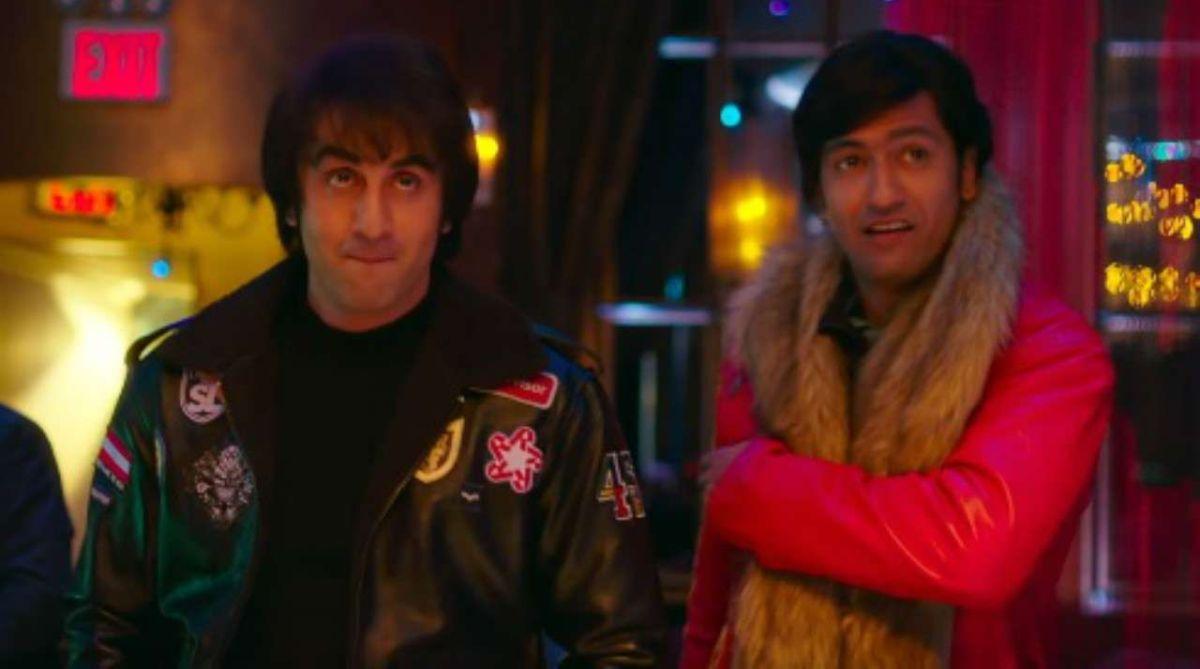 Ranbir Kapoor, Vicky Kaushal. Sanju