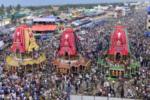 Nine-day annual Rath Yatra begins at Jagannath Puri