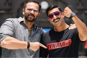 Ranveer Singh receives early birthday present from Simmba director Rohit Shetty