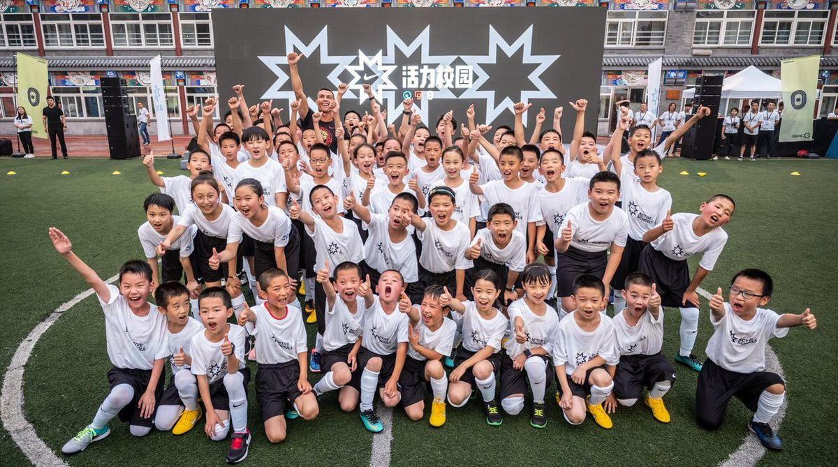 Ronaldo in China