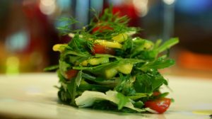 Rucola and Mango Salad