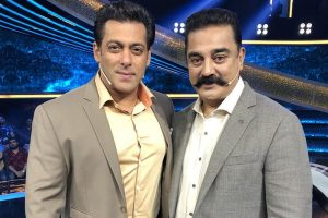 Kamal Haasan happy to shoot with 'bhai' Salman Khan