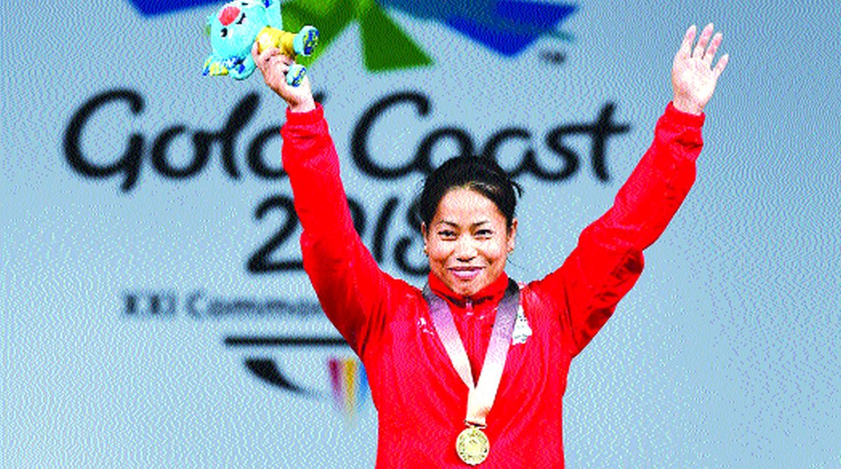 Sanjita Chanu, CWG gold coast, Narendra Modi, Ram Nath Kovind, Manipur Olympic Association