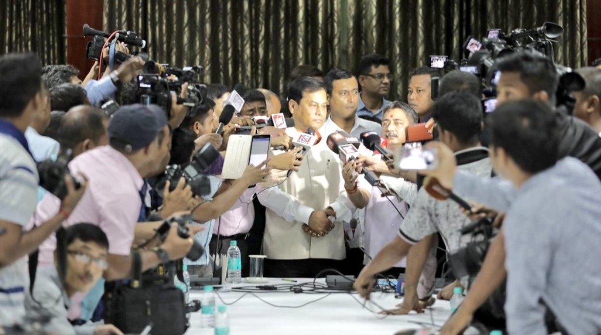Sarbananda Sonowal Assam CM