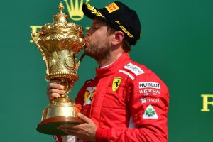 British GP: Sebastian Vettel wins race, tightens grip on championship
