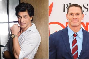 Important to inspire kids who look at you as hero: SRK to John Cena