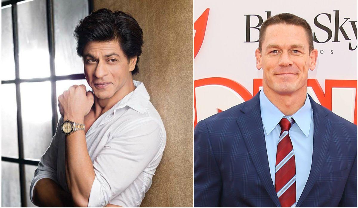 Shah Rukh Khan, John Cena