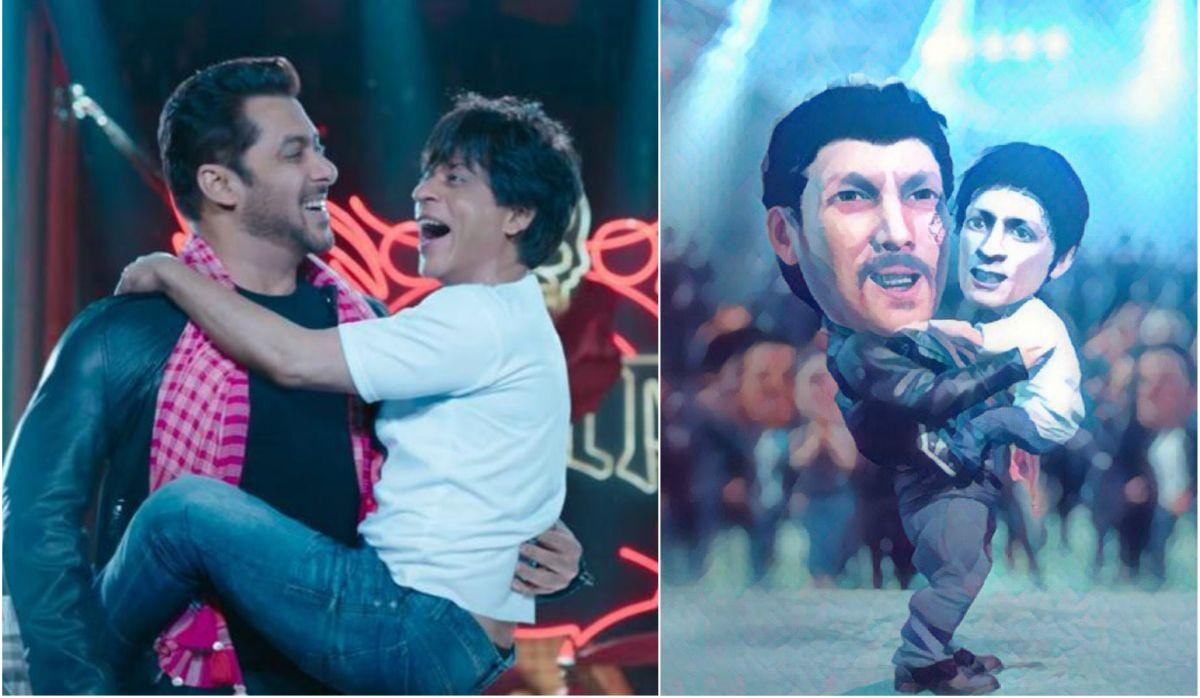 Shah Rukh Khan, Salman Khan in Zero teaser